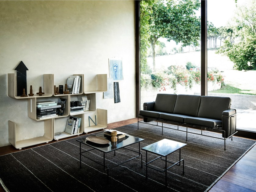 3 seater leather sofa TRAFFIC | 3 seater sofa - Magis