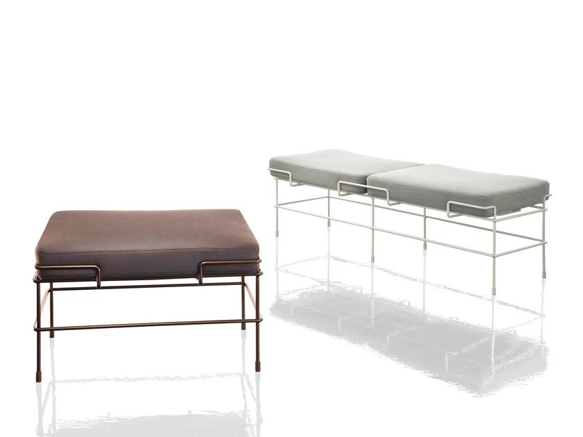 Upholstered bench TRAFFIC | Bench by Magis