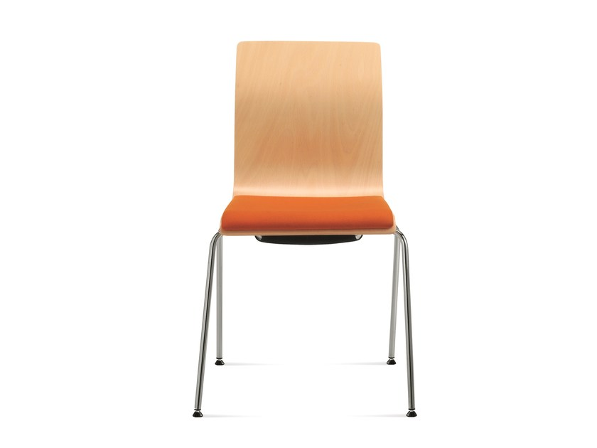 Stackable training chair SLIM | Training chair by Emmegi