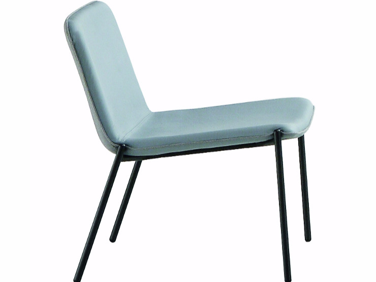 Upholstered easy chair TRAMPOLIERE LOUNGE | Reception chair - Midj