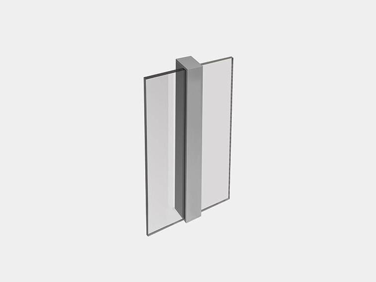 LED aluminium wall light TRANSPARENT 2 WALL by ES-SYSTEM