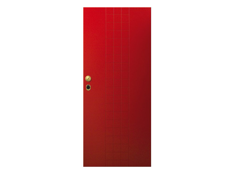 Door panel for indoor use LINEA TRATTO - Metalnova