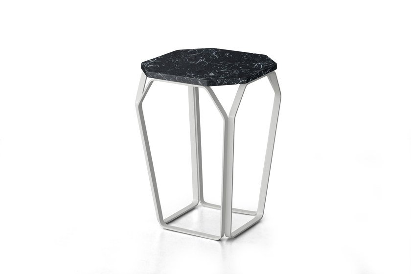 Marble side table TRAY 1 | Marble coffee table - MEME DESIGN