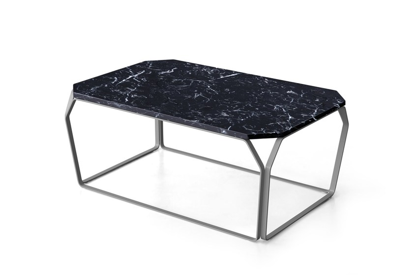Rectangular marble coffee table TRAY 3 | Marble coffee table - MEME DESIGN