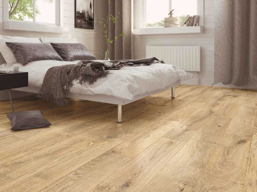 Oak parquet TREBBO BOSTON SERRATED - GAZZOTTI