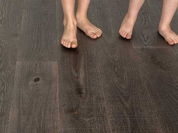 Oak parquet TREBBO DRESDA SERRATED by GAZZOTTI