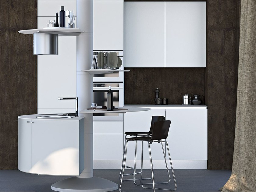 Cucina componibile laccata TREESTYLE THREE by Oikos Cucine