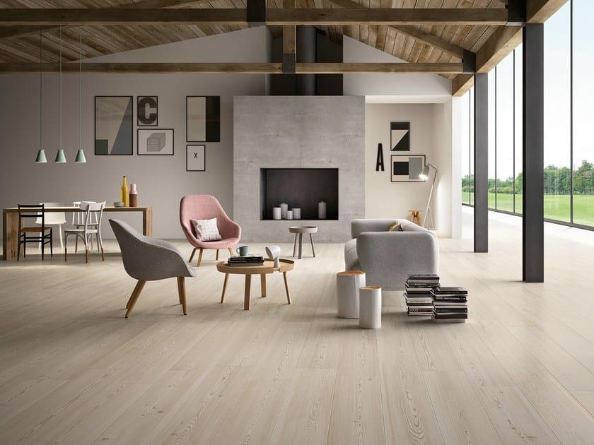 Pavimento in gres porcellanato effetto legno TREVERKTREND - MARAZZI