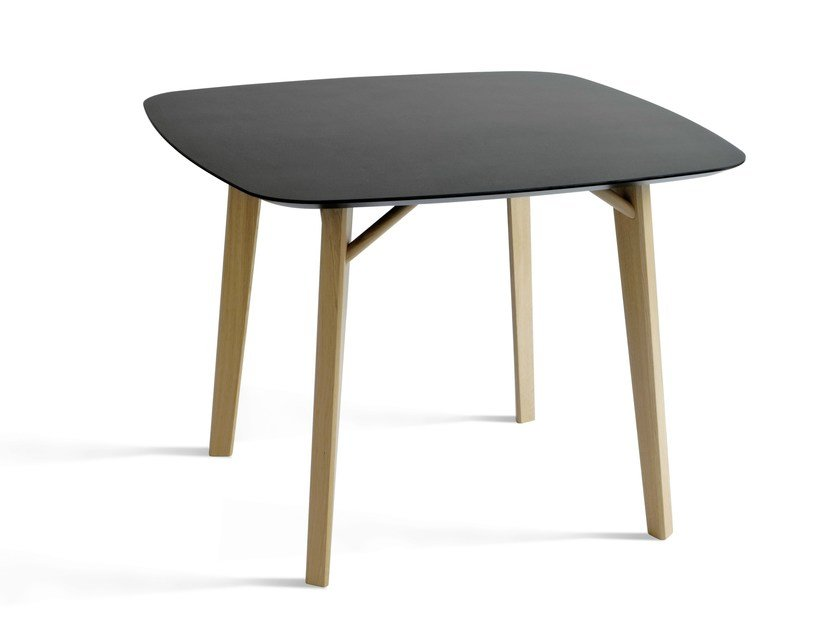 Square MDF dining table TRIA | Dining table - Colé Italian Design Label
