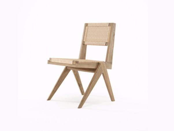 Rope and oak chair TRIBUTE TB06-O - KARPENTER