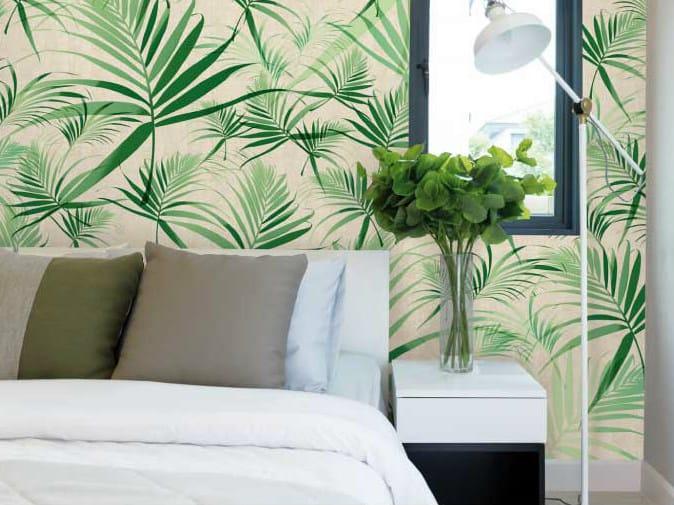 Motif non-woven paper wallpaper TROPIC by LGD01