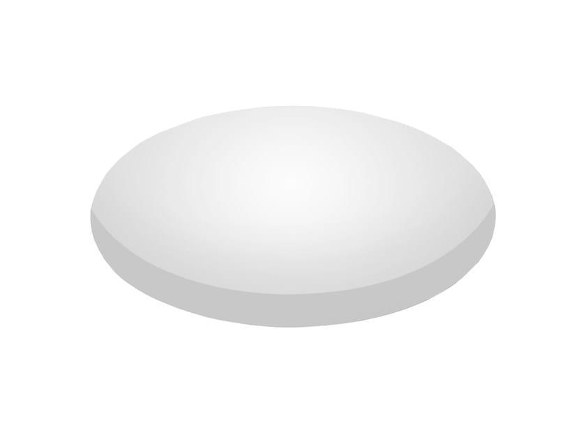 LED recessed polycarbonate ceiling lamp TRYBECA 300 ROUND TRIMLESS - Reggiani Illuminazione