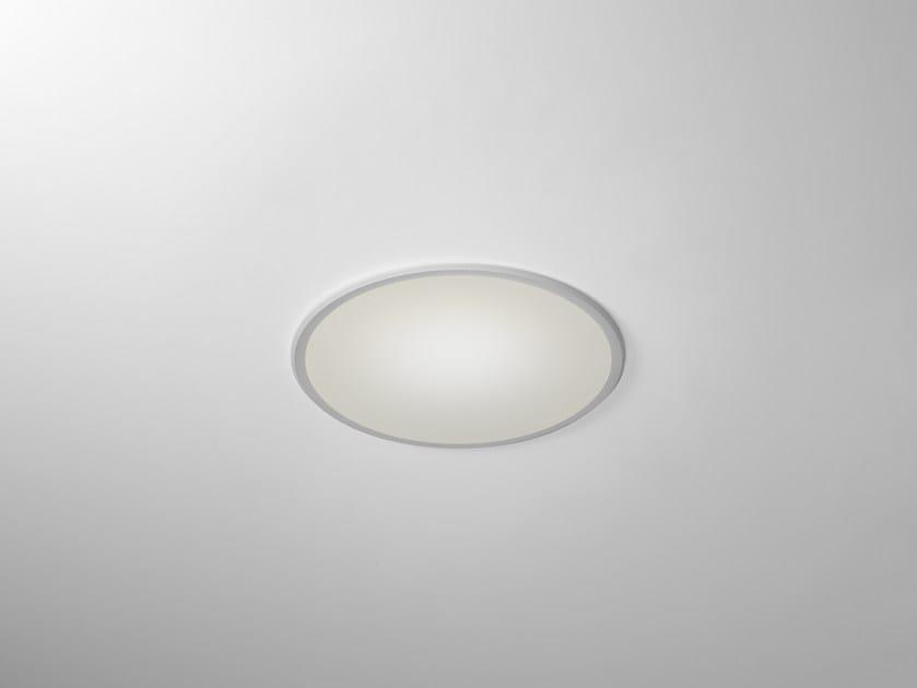 LED built-in lamp TRYBECA 38 ROUND WITH BEZEL - Reggiani Illuminazione