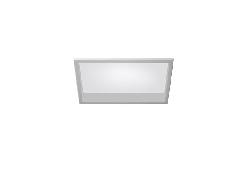 LED rectangular recessed polycarbonate spotlight TRYBECA 75 RECTANGLE WITH BEZEL by Reggiani