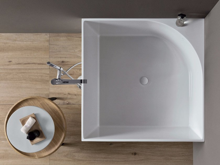 Vasca da bagno quadrata tub nic design - Vasca piccola da bagno ...