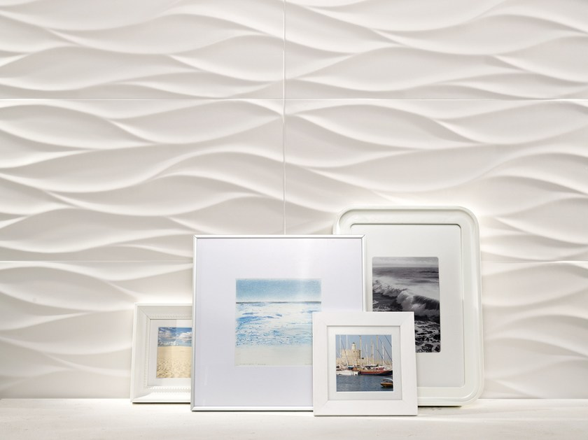 Indoor 3D Wall Cladding TUBADZIN ALL IN WHITE | 3D Wall Cladding - TUBADZIN