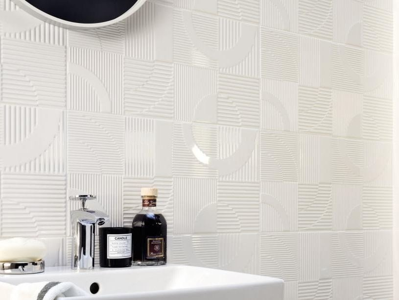 Indoor 3D Wall Cladding TUBĄDZIN COLL | 3D Wall Cladding by tubadzin