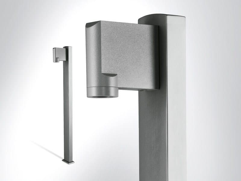 Aluminium bollard light TULA | Bollard light - Arcluce