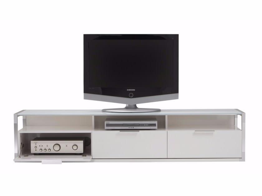 TV cabinet with flap doors DEDICATO | TV cabinet - ROSET ITALIA