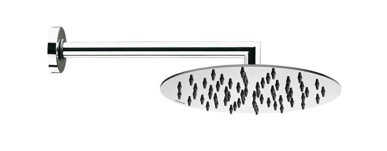 1-spray stainless steel overhead shower Twiggy Ø 200 - Bossini