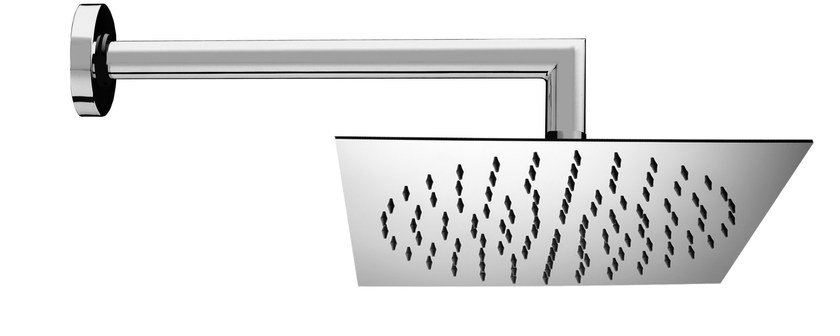 1-spray stainless steel overhead shower Twiggy 300 x 300 mm - Bossini