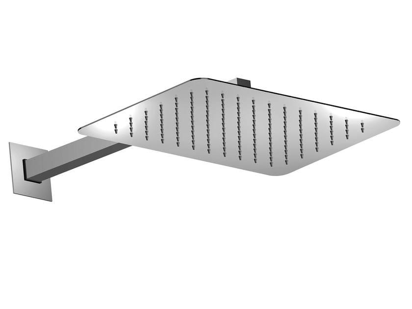 1-spray stainless steel overhead shower Twiggy 400 x 250 mm - Bossini