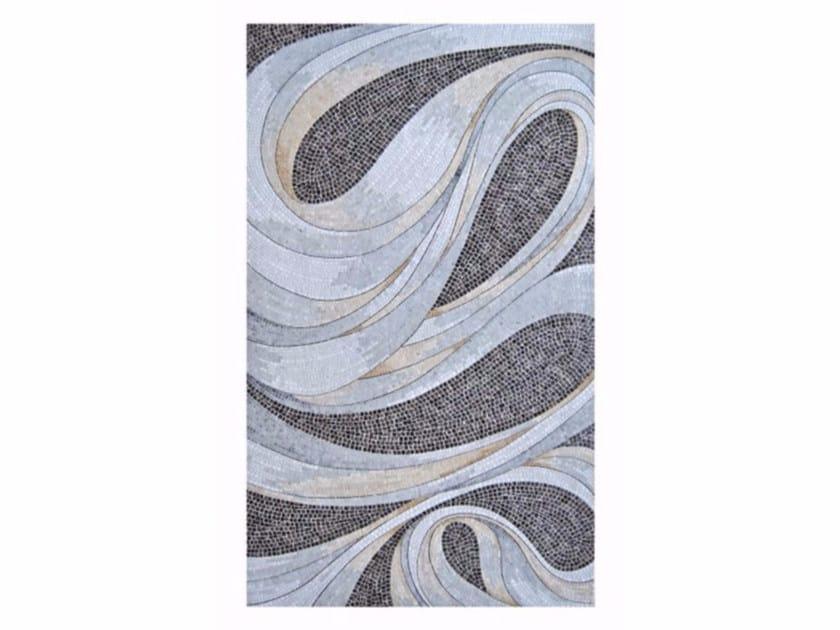 Marble mosaic TWIST by FRIUL MOSAIC