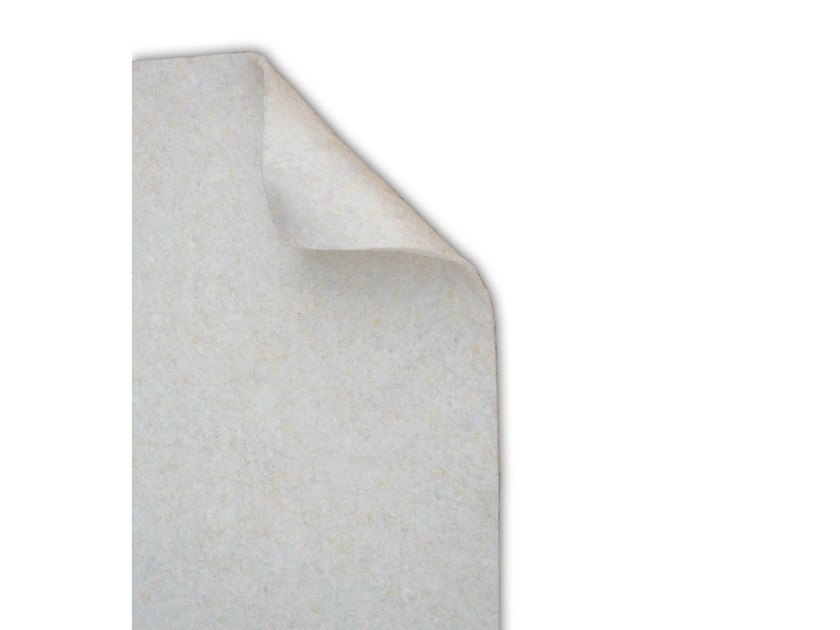 Sound insulation and sound absorbing panel in mineral fibre TXT® Flottex - ETERNO IVICA