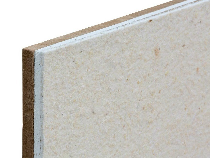 Sound insulation and sound absorbing panel in mineral fibre TXT® Silentetto - ETERNO IVICA