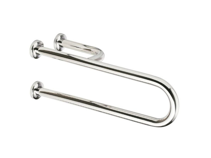U-shaped fixed stainless steel grab bar INOX | U-shaped grab bar - Saniline by Thermomat
