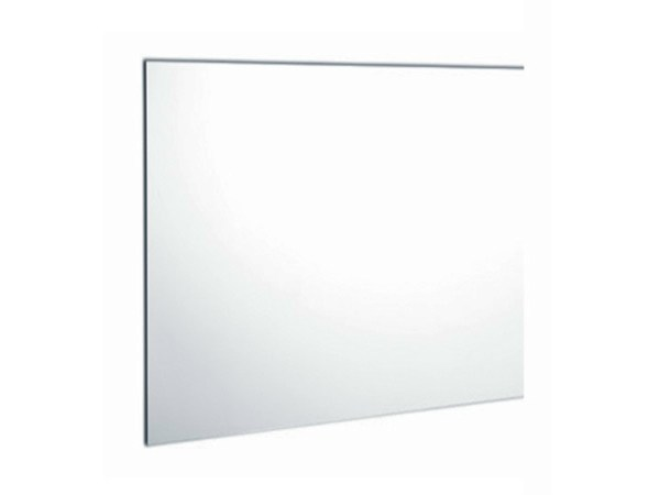 Square wall-mounted bathroom mirror TEXTURE | Square mirror by Olympia Ceramica