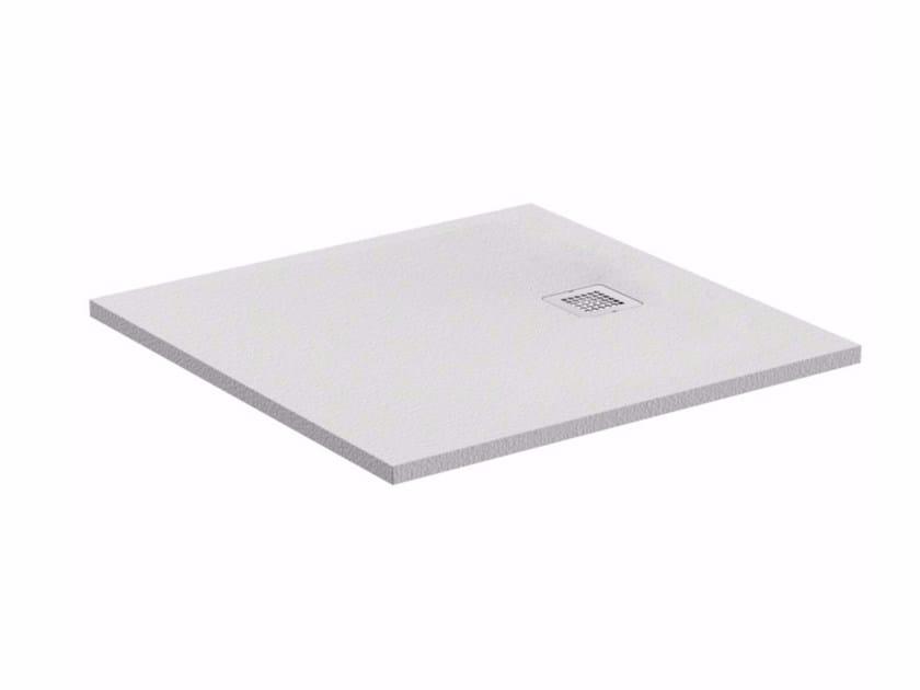 Square extra flat shower tray ULTRA FLAT S - K8215 - Ideal Standard Italia