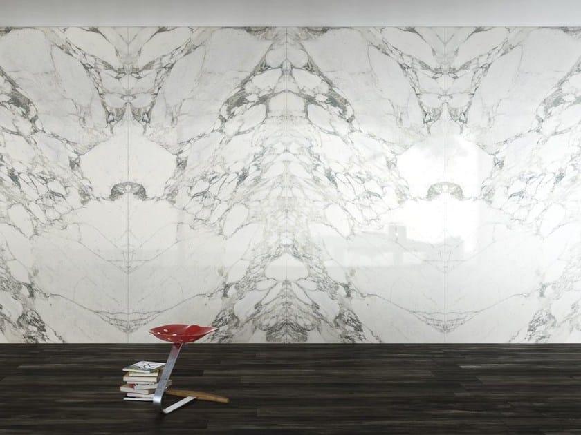 Wall/floor tiles with marble effect ULTRA MARMI │ Arabescato Statuario - ARIOSTEA