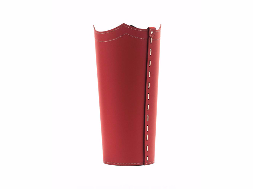 Bonded leather umbrella stand UMBRELLA by LIMAC design FIRESTYLE