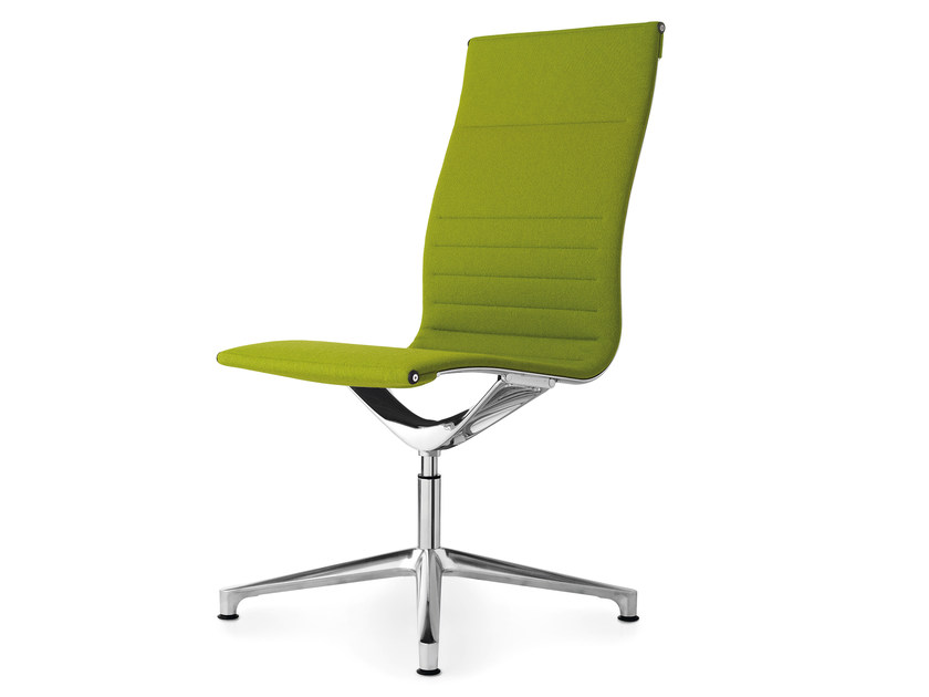 Swivel fabric task chair with 4-Spoke base UNA CHAIR MANAGMENT | Task chair with 4-Spoke base - ICF