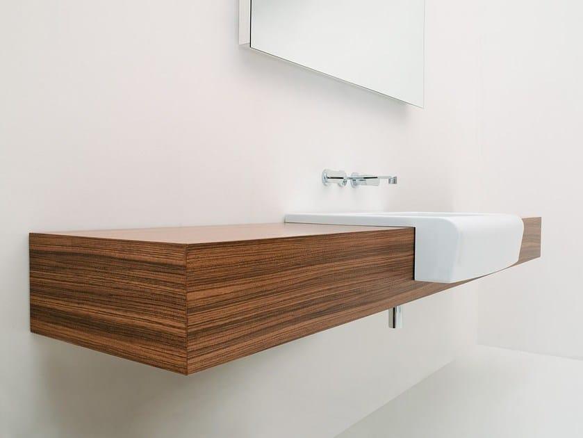 Wall-mounted vanity unit UNA | Vanity unit - CERAMICA FLAMINIA