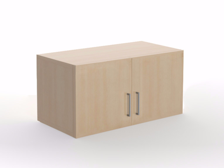 Modular office storage unit with hinged doors UNI | Office storage unit with hinged doors by NARBUTAS