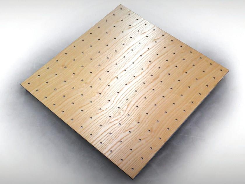 Wooden decorative acoustical panels UNISQUARE PRO - Vicoustic by Exhibo