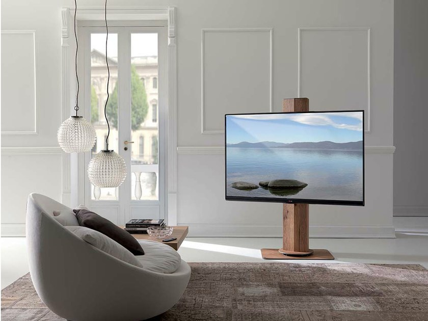 Uno by ozzio italia design studio ozeta - Mobile tv orientabile ...