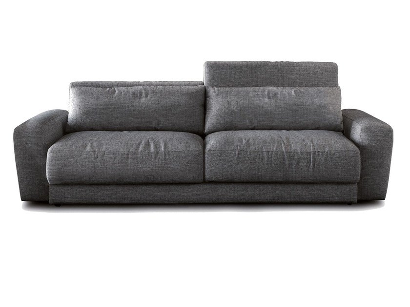 Fabric sofa with headrest UP! | Sofa - SANCAL