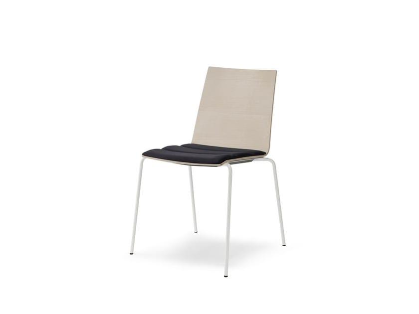 Stackable restaurant chair UPDATE_B | Restaurant chair - Wiesner-Hager