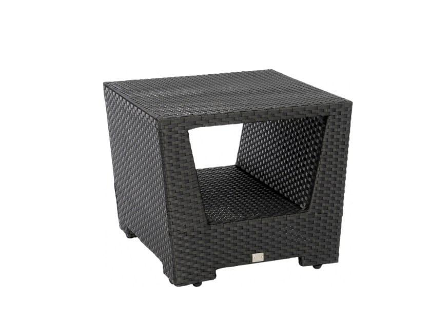 Tavolino di servizio quadrato con vano contenitore UPTOWN | Tavolino di servizio - 7OCEANS DESIGNS