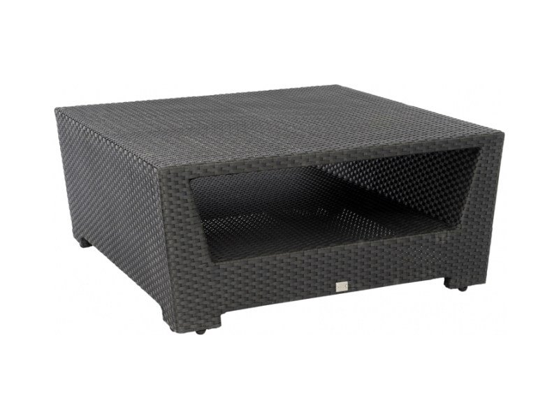 Square coffee table with storage space UPTOWN | Square coffee table by 7OCEANS DESIGNS