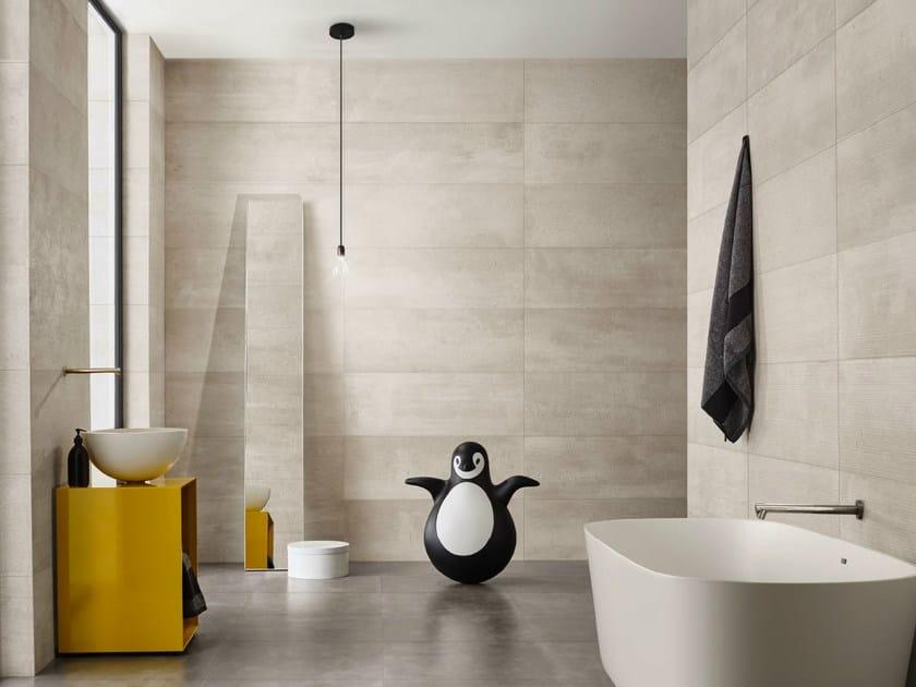 White-paste wall tiles URBAN GREY by Love Tiles
