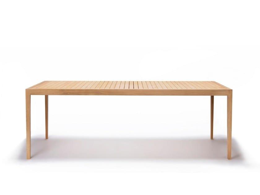 Tavolo da giardino rettangolare in teak URBAN | Tavolo rettangolare - Feelgood Designs