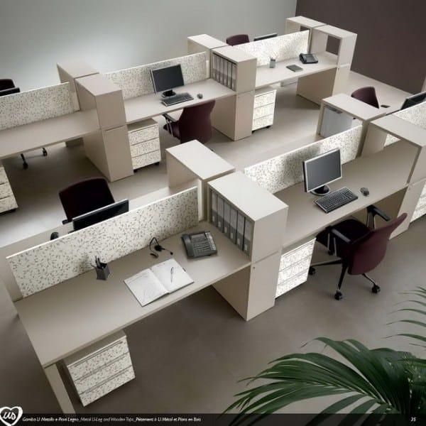 Multiple office workstation US | Office workstation - Castellani.it