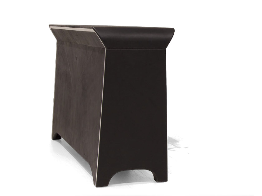 Leather reception desk V077 | Reception desk - Aston Martin