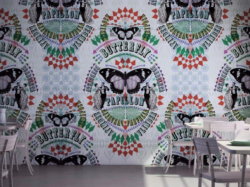 Motif washable vinyl wallpaper VA ET VIENT - GLAMORA