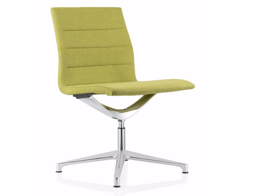 Swivel fabric task chair with 4-Spoke base VALEA ESSE | Task chair - ICF