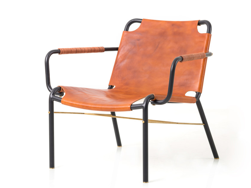 Leather lounge chair VALET LOUNGE CHAIR - STELLAR WORKS